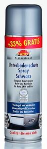 Carfit Unterbodenschutz Spray, Schwarz 6er Set