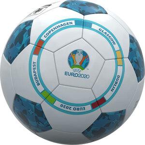 EURO 2020 Fußball - Blau/ Weiß