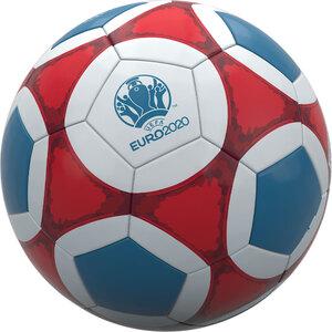 EURO 2020 Fußball - Rot/ Blau/ Weiß