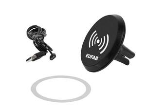 EUFAB Induktions Lader mit magnetischem Handyhalter