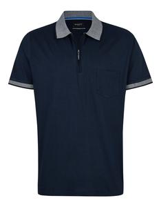 Bexleys man - Polo-Shirt uni, merzerisiert