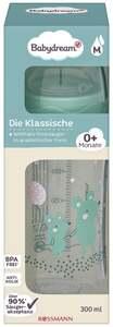 """Babydream Weithalsflasche """"Die Klassische"""" petrol Gr. M 0+ Monate"""