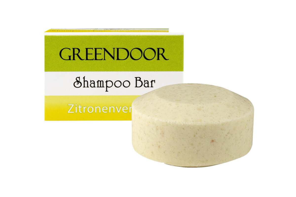 Bild 1 von GREENDOOR Shampoo Bar Zitronenverbene