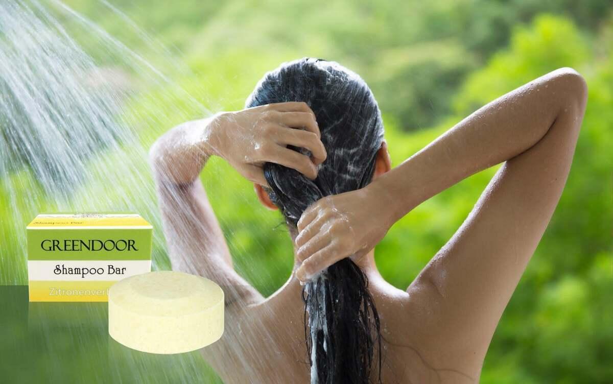 Bild 5 von GREENDOOR Shampoo Bar Zitronenverbene