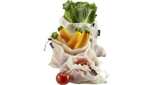 GEFU Obst- und Gemüsenetz AWARE, 3 x Gr. M