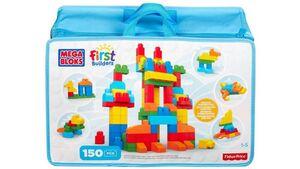 Fisher Price - Mega Bloks First Builders - Bausteinebeutel Deluxe 150 Teile - Grundfarben - Refresh