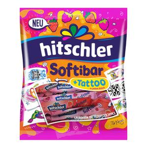 Hitschler Softibar Kaubonbon mit Tattoos 75 g