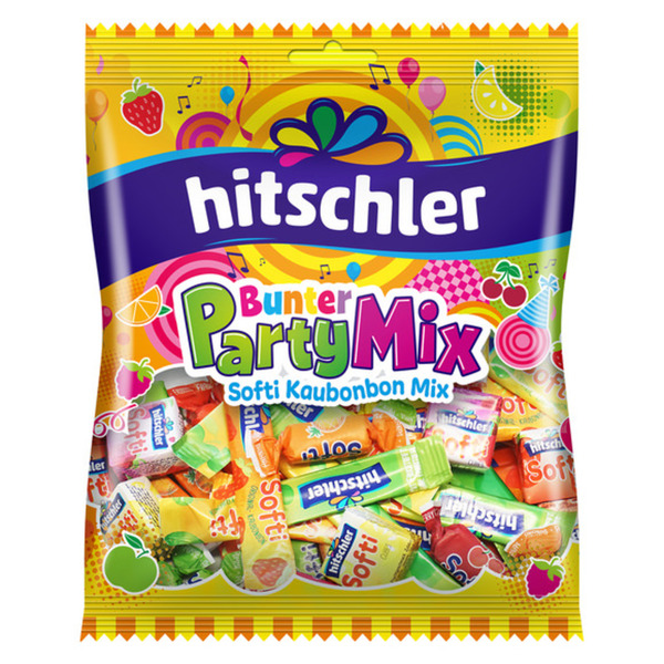 Hitschler Kaubonbons Bunter Party Mix 250 g
