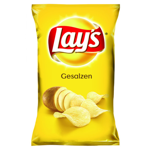 Lay´s Kartoffelchips gesalzen 175 g