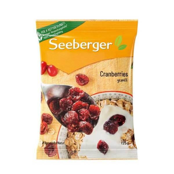 Seeberger Cranberries gesüßt 125 g