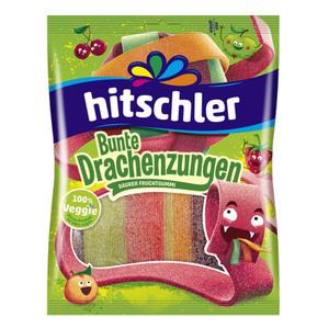 """Hitschler Fruchtgummibänder """"Bunte Drachenzungen"""" 125 g"""