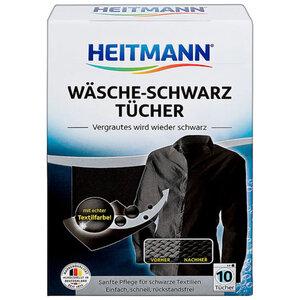 HEITMANN Wäsche Schwarz Tücher (10er)