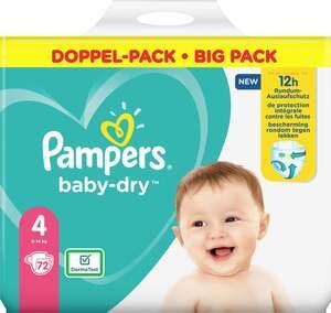 Pampers Windeln baby-dry Größe 4 (9-14 kg) Doppelpack