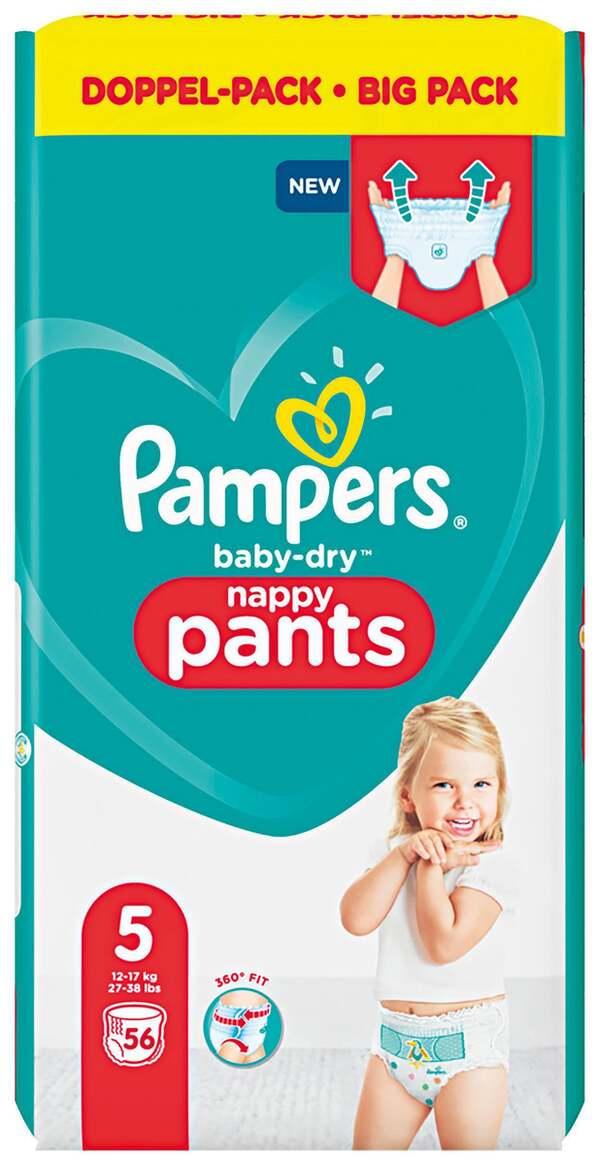Pampers Höschenwindeln baby-dry Größe 5 (12-17 kg) Doppelpack