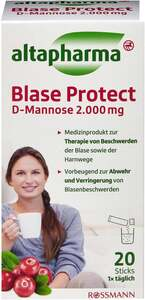 altapharma Blase Protect D-Mannose 2.000 mg