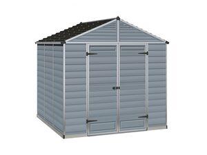 Palram Gartenhaus »Skylight Shed«, anthrazit, Aluminiumrahmen, Polycarbonat-Platten
