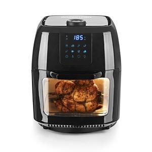 Gourmetmaxx Digital Heißluft-Fritteuse Ofen & Drehgrill schwarz