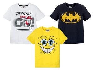 Kinder T-Shirt Jungen, in Single-Jersey-Qualität, aus reiner Baumwolle