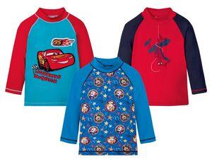 Kleinkinder Shirt Jungen, mit UV-Schutz 50+, Spiderman, Paw Patrol, Cars