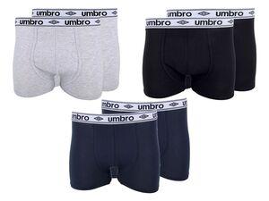 UMBRO Boxer Herren, 2 Stück, mit Baumwolle