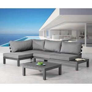 home24 Loungegruppe Luanda (3-teilig)