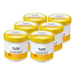 Pure & Basic Melkfett 250 ml, 6er Pack
