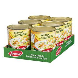 Erasco Reistopf mit Fleischklößchen 800 g, 6er Pack