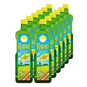 Rapso Rapsöl 750 ml, 12er Pack