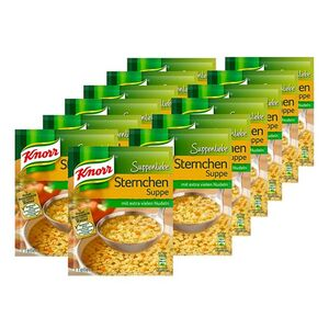 Knorr Suppenliebe Sternchen Suppe ergibt 0,75 L, 13er Pack