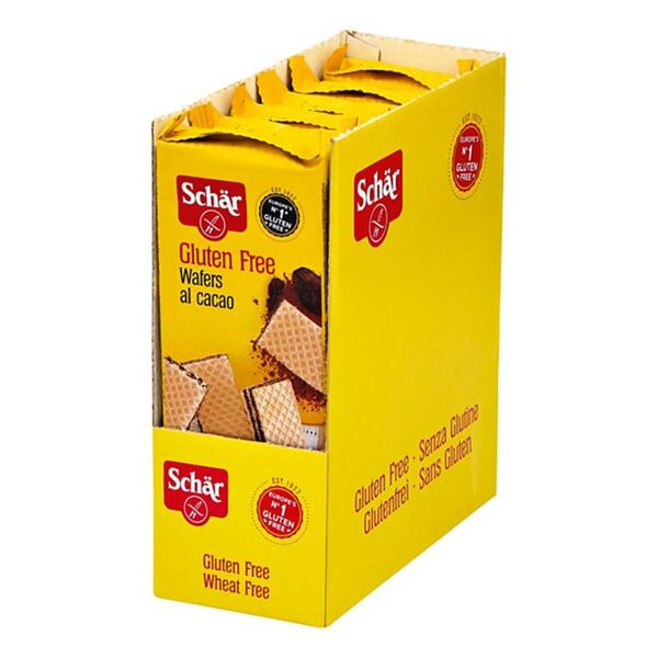 Schär Wafers al cacao 125 g, 6er Pack