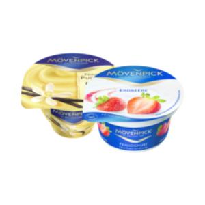 Mövenpick Feinjoghurt oder Sahnepudding