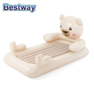 Bestway #67712 Up, In & Over Kinder-Luftbett Teddy 188x109x89cm
