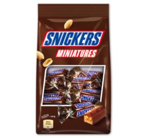 SNICKERS-, TWIX-, MARS oder BOUNTY Miniatures
