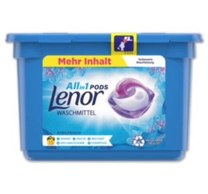 LENOR Waschmittel All in 1 Pods