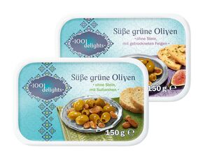 Süße Oliven