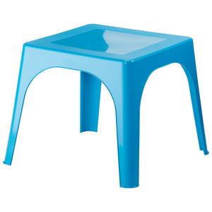 Kinder-Gartentisch (59x59, blau)