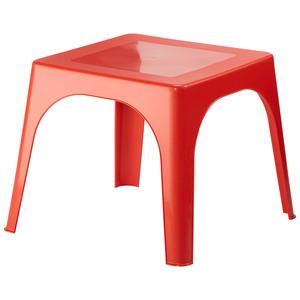 Kinder-Gartentisch (59x59, rot)