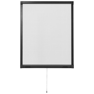 Insektenschutz-Rollo (130x160, braun)