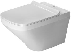 Duravit Wand-Tiefspül-WC Durastyle weiß, spülrandlos, inkl. WC-Sitz