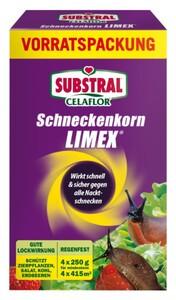 Substral Celaflor Schneckenkorn Limex 4 x 250 g, Vorratspackung für ca. 4 x 415 m²