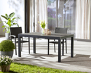 Bild 3 von GARDENLINE®  Alu-Gartentisch, verlängerbar