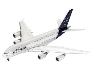 Revell Modellbausatz »Airbus A380-800 Lufthansa New Livery«, Flugzeug, ab 13 Jahren