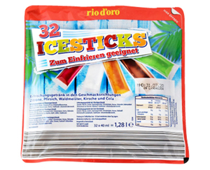 rio d'oro®  Ice Sticks 32 x 40 ml
