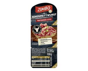 ZIMBO Rindsmettwurst