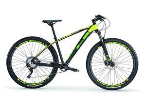 MBM Mountainbike »SNAKE«, MTB, 29 Zoll, Alu-Rahmen, 11 Gang Shimano, schwarz-gelb