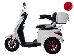 GreenStreet Elektromobil »E-Mover«, 20 km/h, 25km/h, 50 km Reichweite, mit Topcase