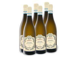 6 x 0,75-l-Flasche Pasqua Villa Borghetti Lugana DOC trocken, Weißwein