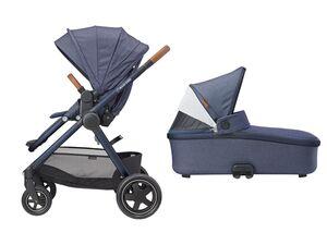 Maxi-Cosi Kinderwagen Adorra +  Oria Babywanne Sparkling Blue