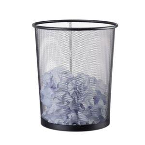 Papierkorb schwarz