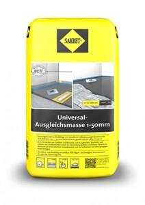Sakret Universal-Ausgleichsmasse 1-50 mm ,  25 kg